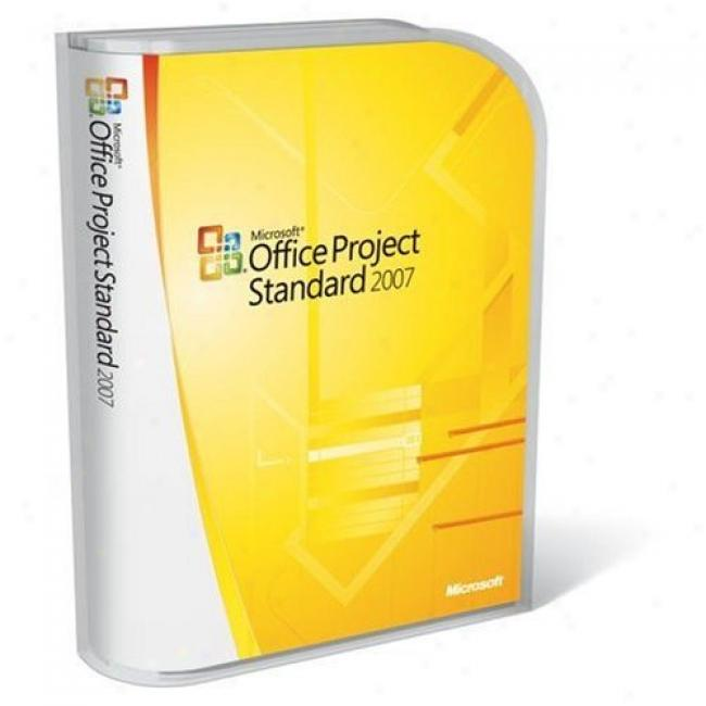 Microsoft Office Project Standard 2007 Product Key