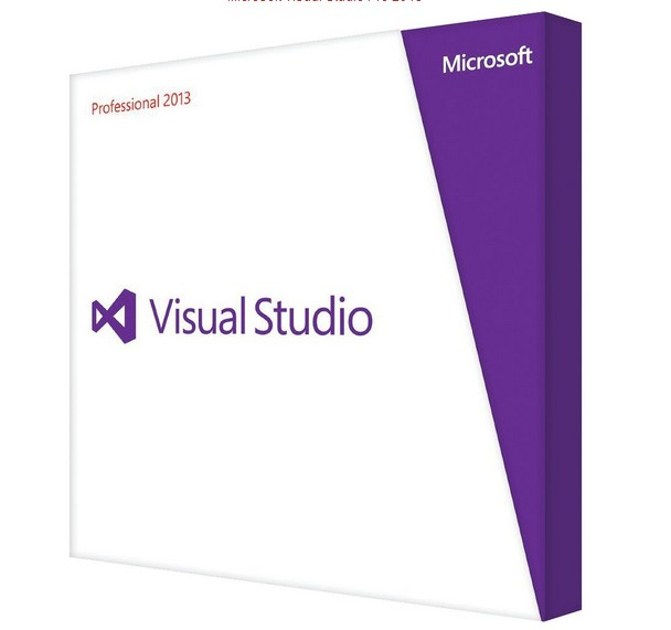 Visual Studio Professional 2013 Product Key