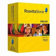 Rosetta Stone English (American) Level 1, 2, 3, 4, 5 Set